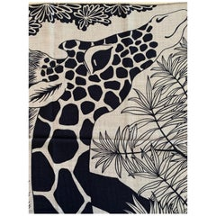 Hermes Cashmere Shawl 140 The Three Graces Giraffes Caban
