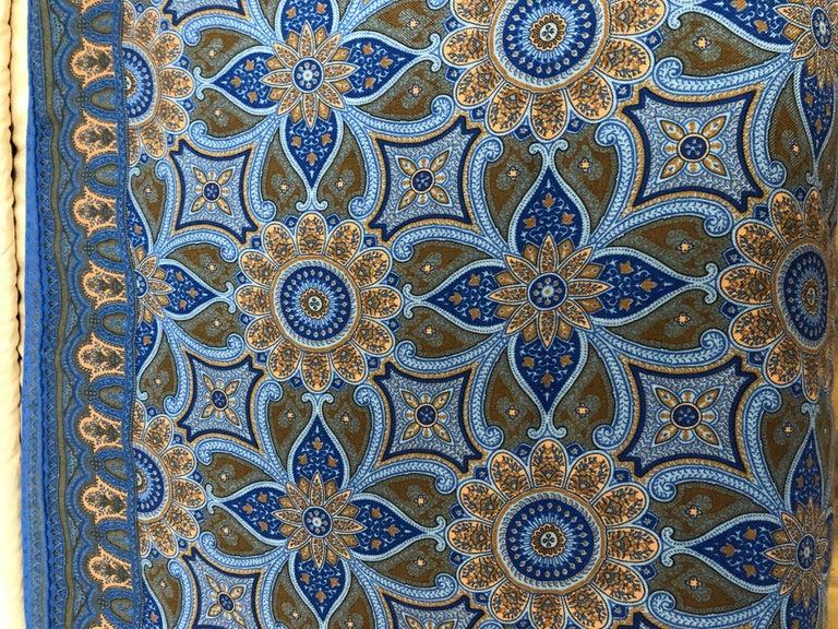Hermes Cashmere/Silk Indian Inspired Paisley Fringed Shawl 70