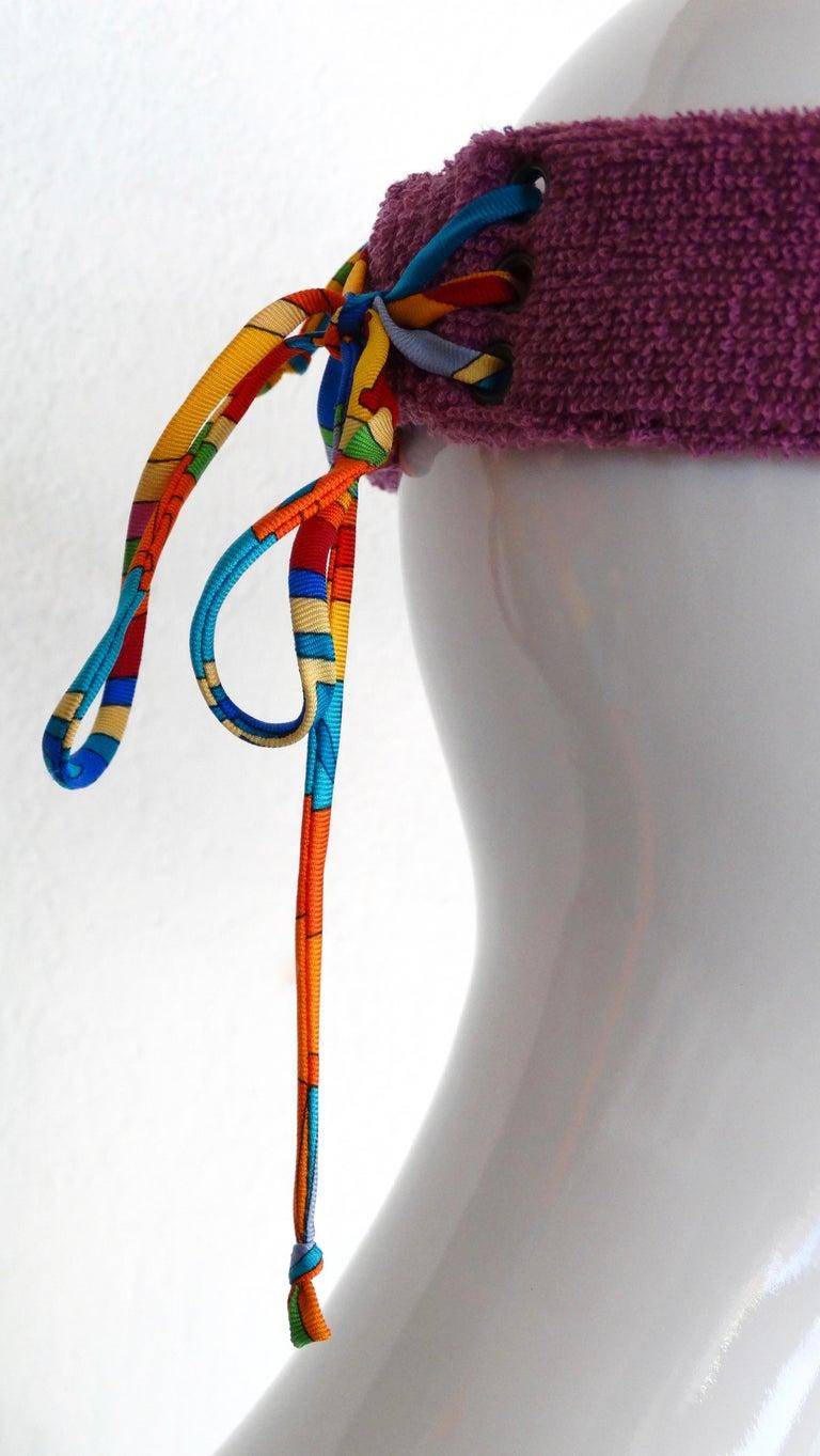Hermès Casquette Oasis Sun Visor Hat  1
