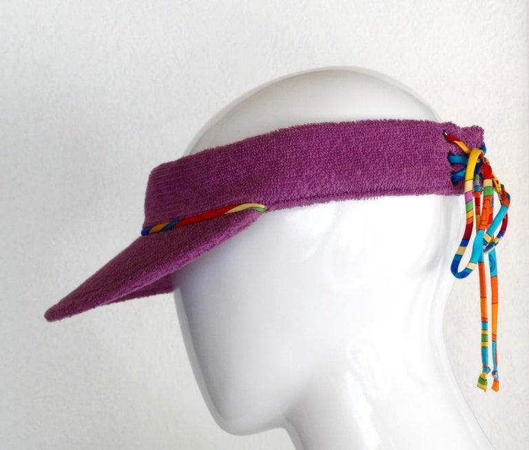Hermès Casquette Oasis Sun Visor Hat  2