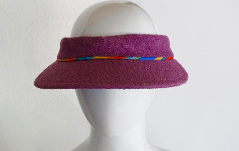 Hermès Casquette Oasis Sun Visor Hat  4
