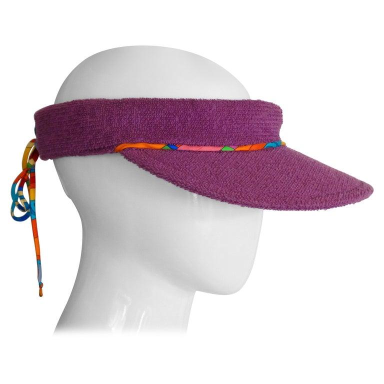 Hermès Casquette Oasis Sun Visor Hat