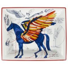 Hermes Change Tray Pegase Limoges Porcelain