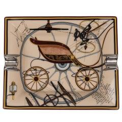 Hermes Change Tray Project De Voiture Petit-Duc Bateau Porcelain Rare