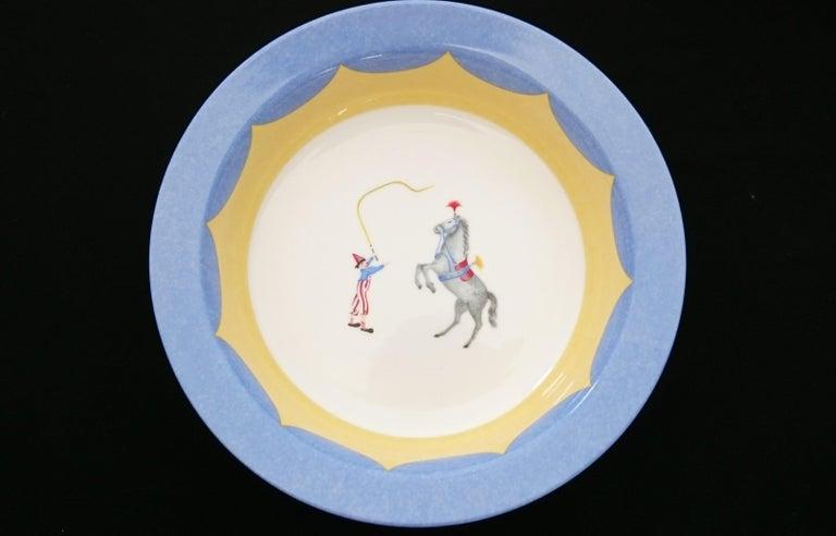 Hermès Circus Porcelain Service (6 pieces set) For Sale 6
