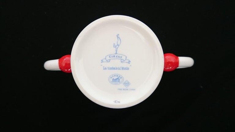 Hermès Circus Porcelain Service (6 pieces set) For Sale 15