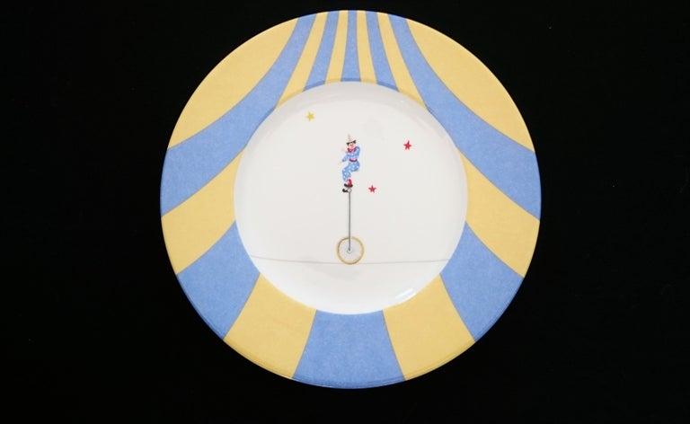 Hermès Circus Porcelain Service (6 pieces set) For Sale 2