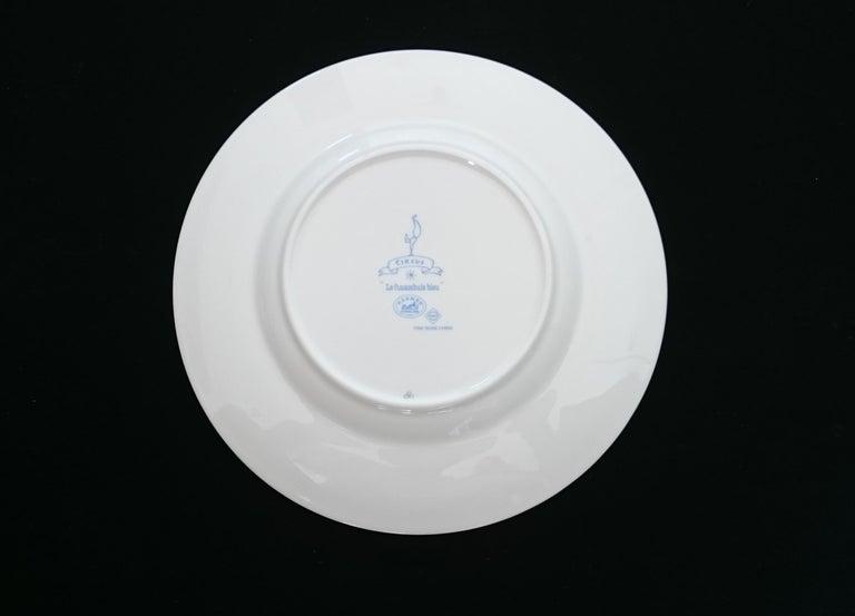 Hermès Circus Porcelain Service (6 pieces set) For Sale 3