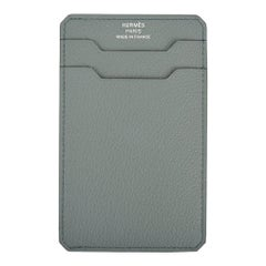 Hermes City 3 CC Card Holder Vert Amande New Color!
