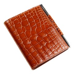 Hermès Classic Gold Alligator Day Planner