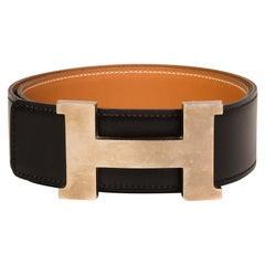 Hermes Classic H Buckle Belt (Size 80/32)