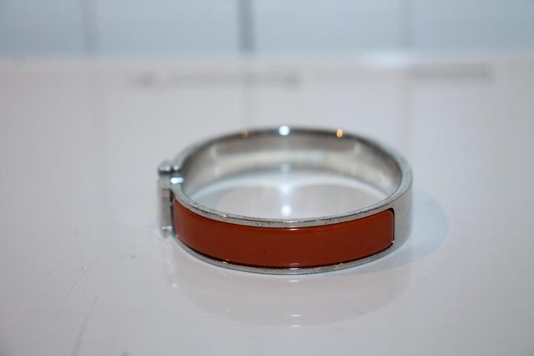 Women's or Men's Hermes Clic H Bracelet For Sale