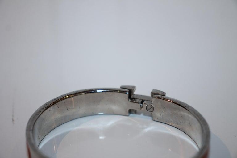 Hermes Clic H Bracelet For Sale 2