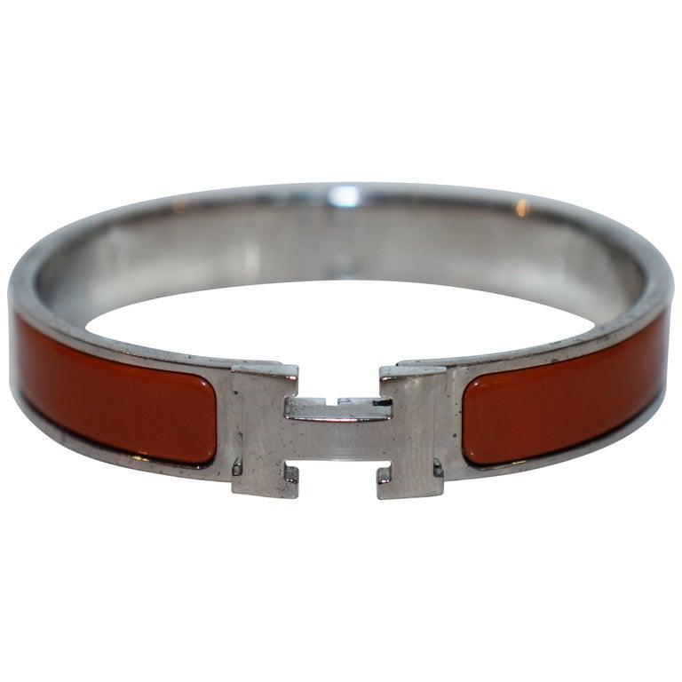 Hermes Clic H Bracelet For Sale