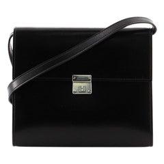 Hermes Clic Wallet on Strap Box Calf 16