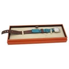 Hermès Barenia ronde watch