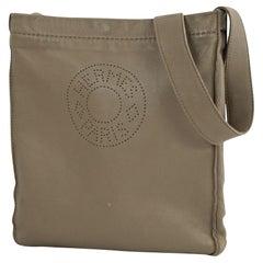 HERMES Clou de Selle Womens shoulder bag beige