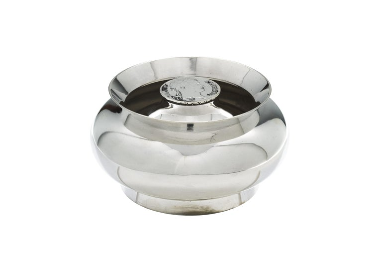 Hermès Coin Ashtray In Excellent Condition In New York, NY