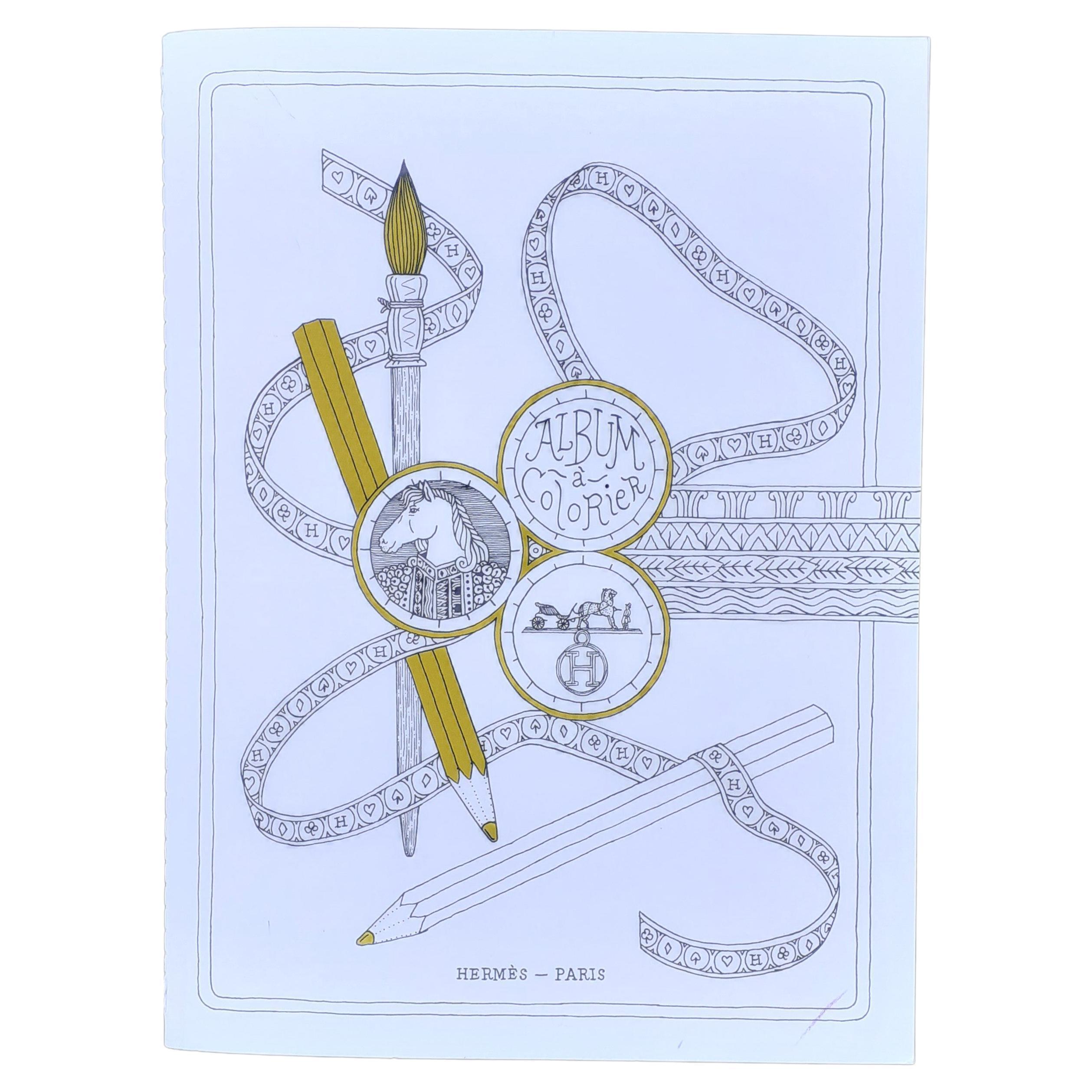 Hermès Coloring Book Rare