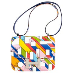 Hermes Constance 24 Bag On a Summer Day Limited Edition Nigel Peake New