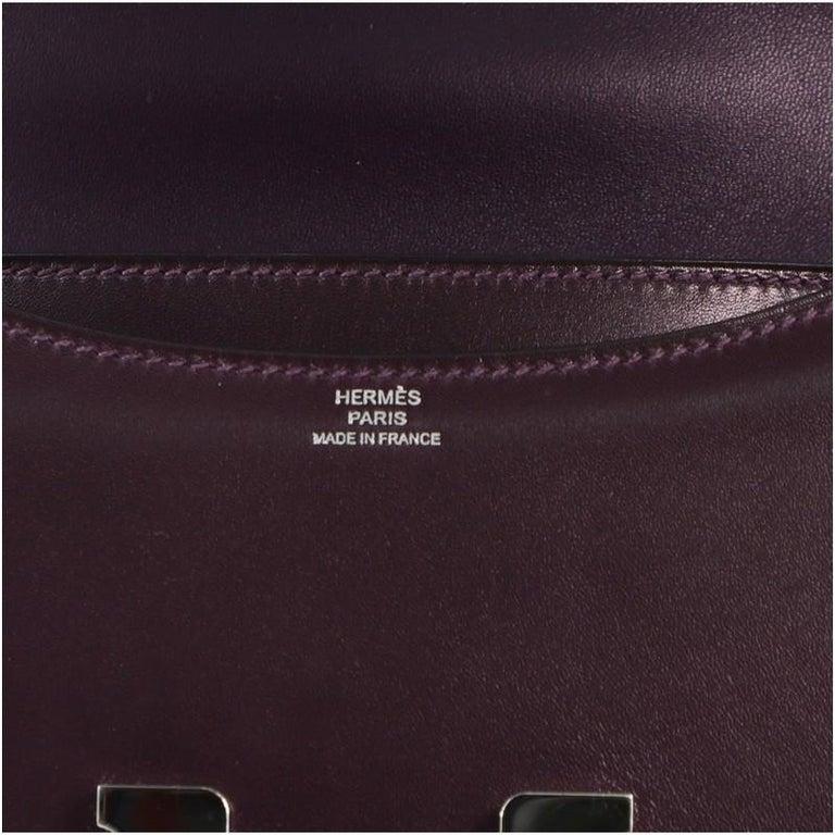 Hermes Constance Bag Box Calf 18 For Sale 4