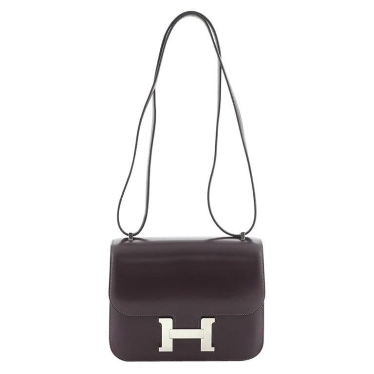 Hermes Constance Bag Box Calf 18 For Sale