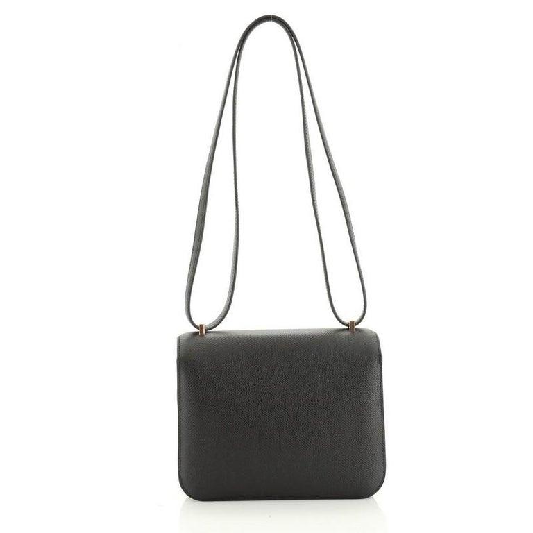 Women's or Men's Hermes Constance Bag Epsom 18 For Sale