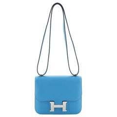 Hermes Constance Bag Evercolor 18