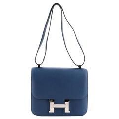 Hermes Constance Bag Evercolor 24