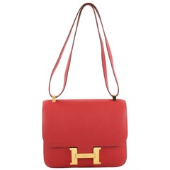Hermes Constance Handbag Epsom 24