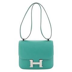 Hermes Constance Handbag Evercolor 24