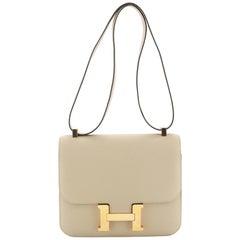 Hermes Constance Handbag Verso Epsom 24
