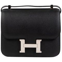 Hermès Constance III 24 Veau Epsom Black PHW