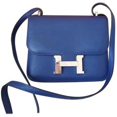 Hermès Constance Leather Handbag