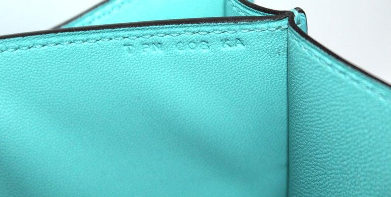 Hermès Constance Mini Blu du Nord 2