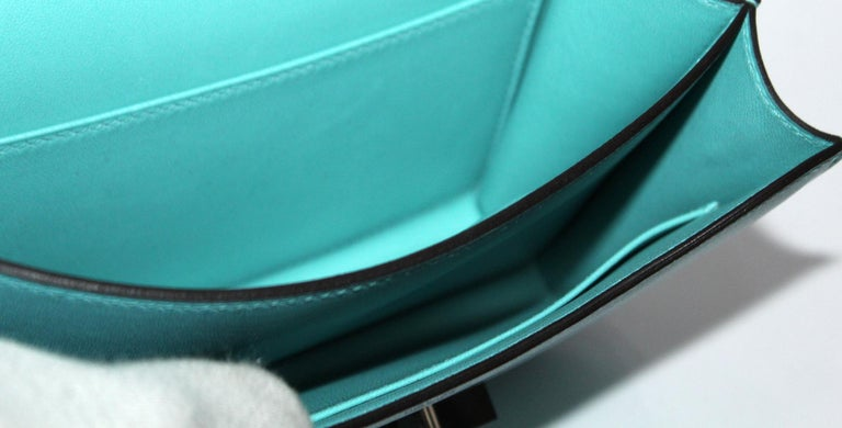 Hermès Constance Mini Blu du Nord 3