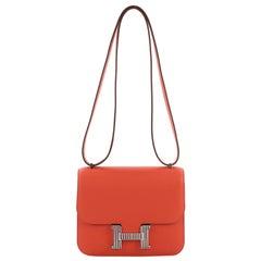 Hermes Constance Optique Handbag Evercolor 18