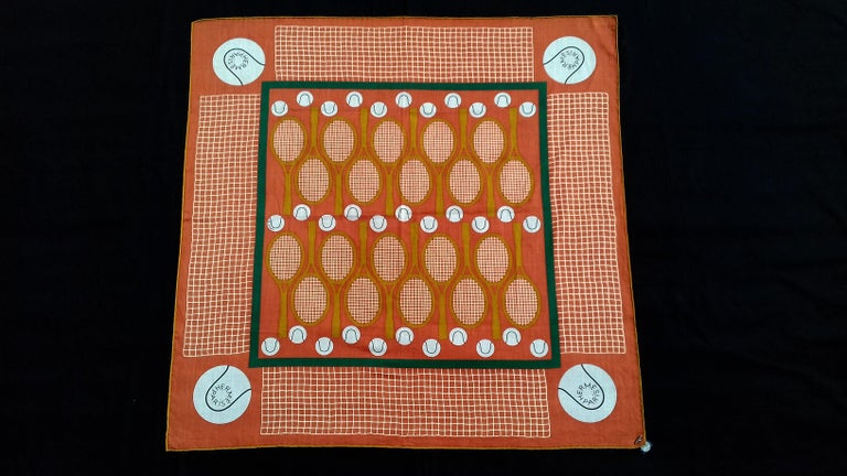 Collectible Authentic Hermès Scarf  Pattern: