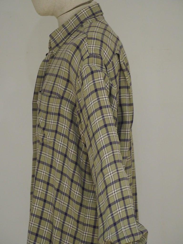 Gray Hermes cotton shirt For Sale