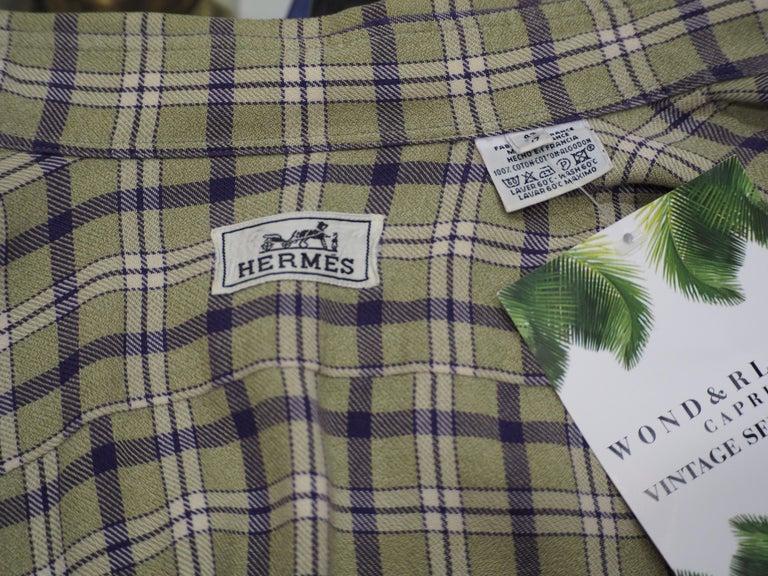 Hermes cotton shirt For Sale 4