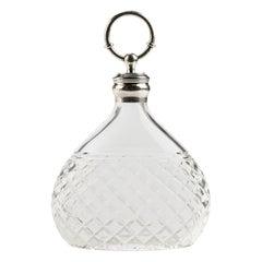 Hermes Crystal & Silver Carafe - Decanter