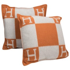 Orange Pillows and Throws