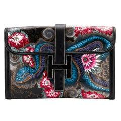 Hermès Customized Jige PM Swift Clutch Bag