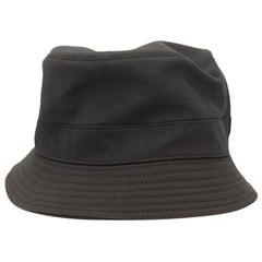 Hermes Dark Grey Bucket Hat