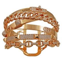 Hermes Diamond Alchimie Bracelet