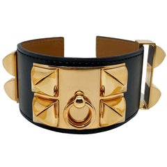 HERMES Dog Collar Bracelet