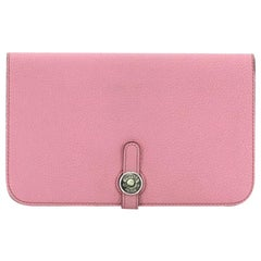 Hermes Dogon Duo Combined Wallet Leather