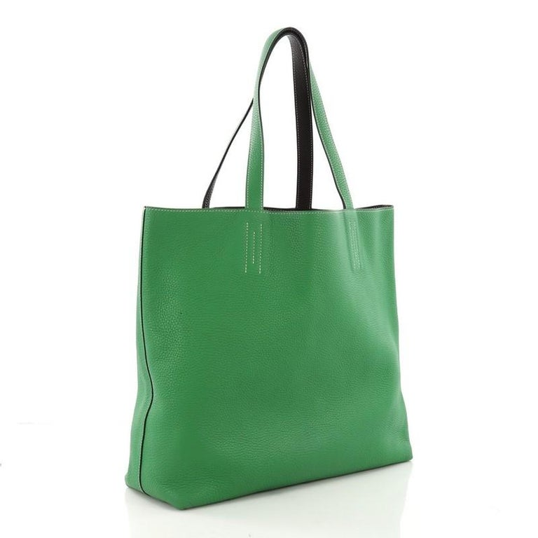 7c38ab1c70de Hermes Double Sens Tote Clemence 36 For Sale at 1stdibs