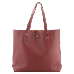 Hermes Double Sens Tote Clemence 45