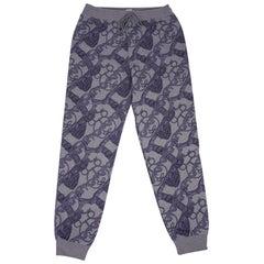 Hermes Drawstring Track Pants Sweatpants Gris Bleute 40 / 6 New